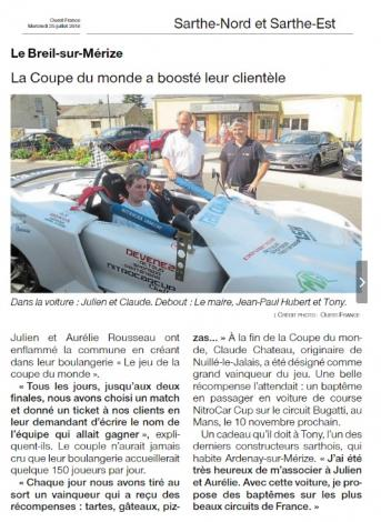 Article ouest france 1